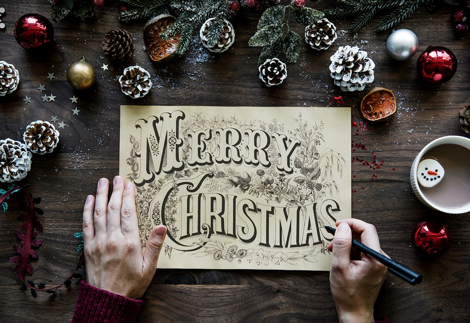 Noël avec les cartes les plus originales