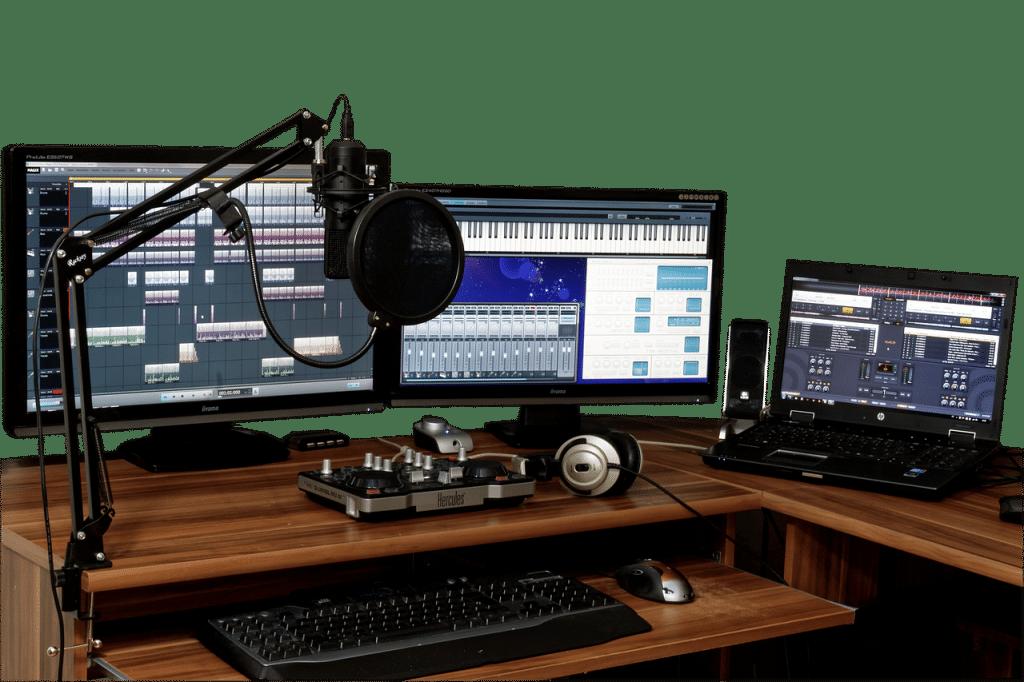 studio de répétition à Lille