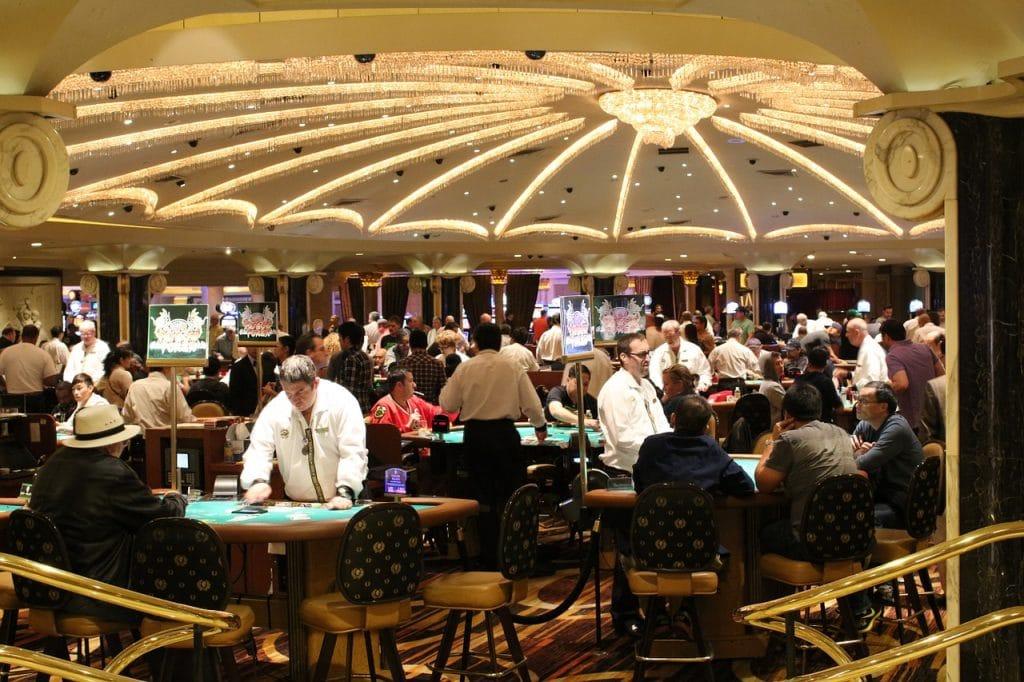 aménagement d'un casino
